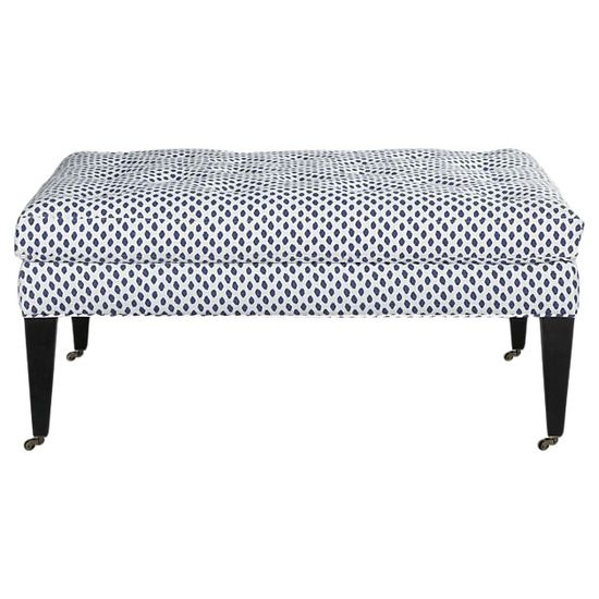 Darlene Ottoman from Crate & Barrel #huntersalley   Furniture ...