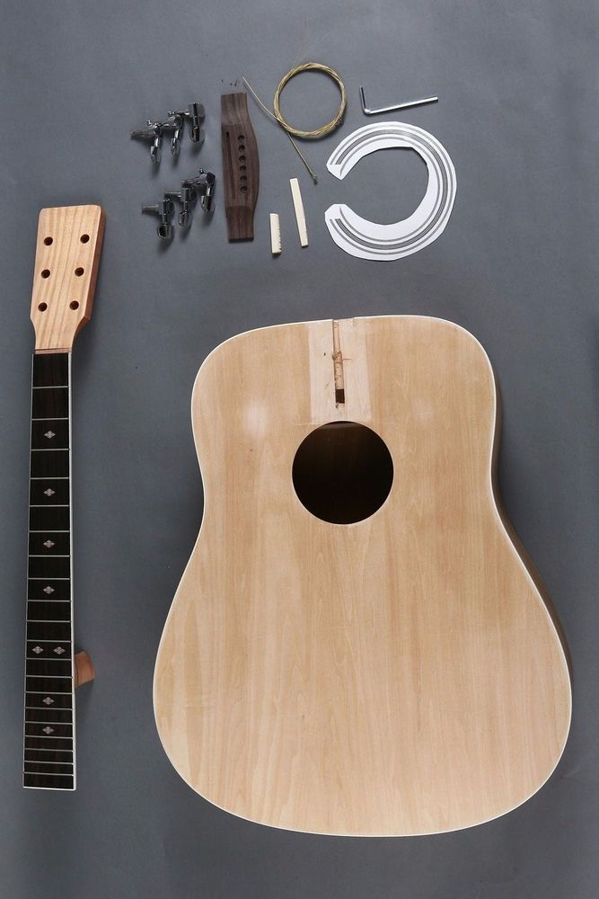 Make Your Own Full Size 6 String D Dreadnought Acoustic