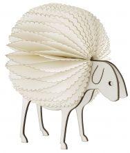 Déco de Noël. Trop mignon, autant s'en servir toute l'année !  Fluffy sheep, white, small | Nordal.eu