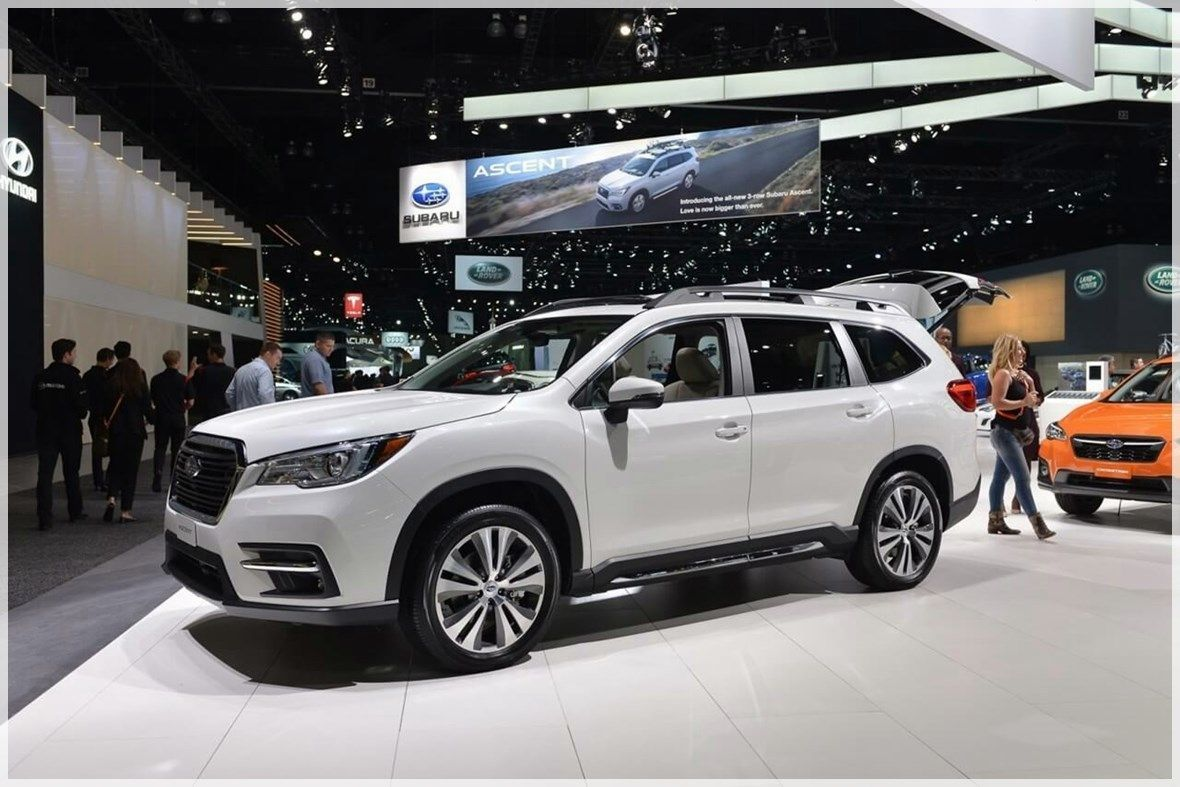 Innere 2020 Subaru Tribeca