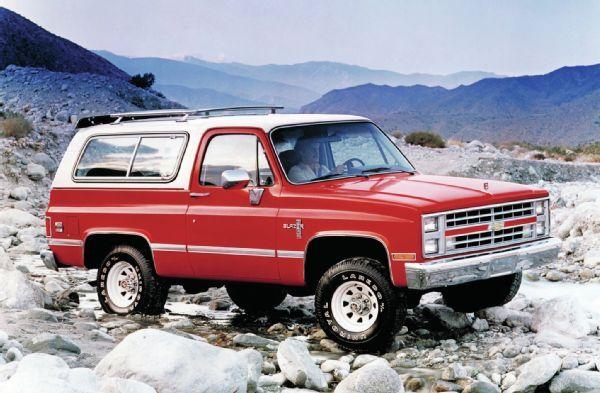 1985 Chevrolet K5 Blazer Chevrolet Blazer Chevy Trucks Cool Trucks