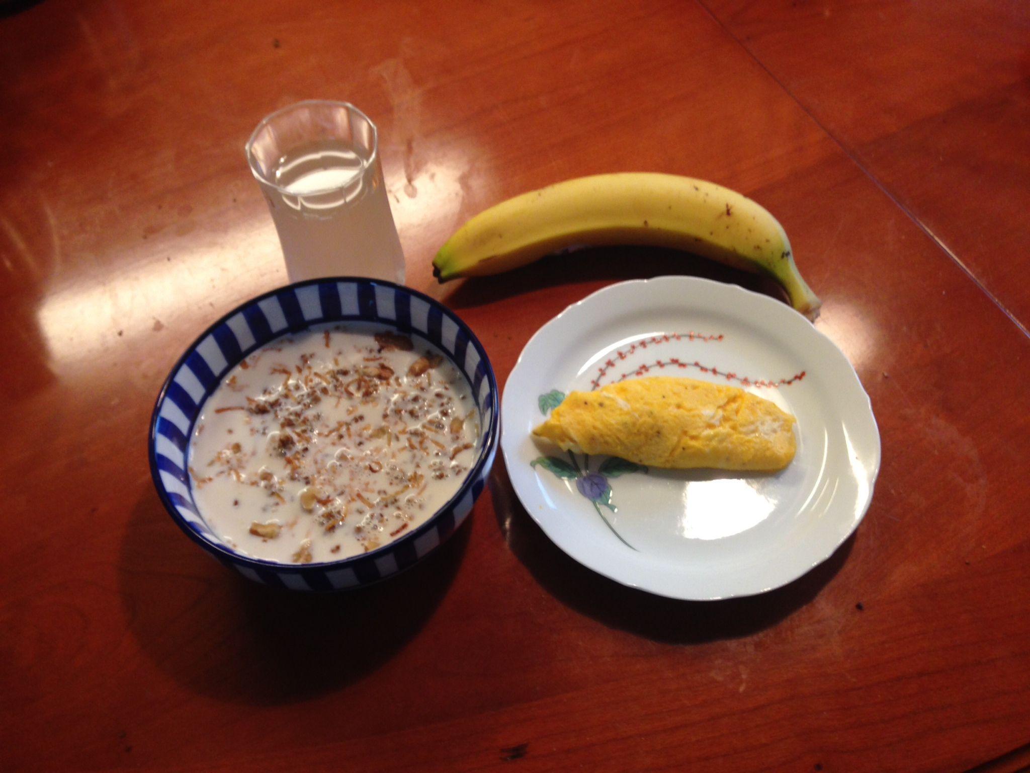 My usual breakfast.