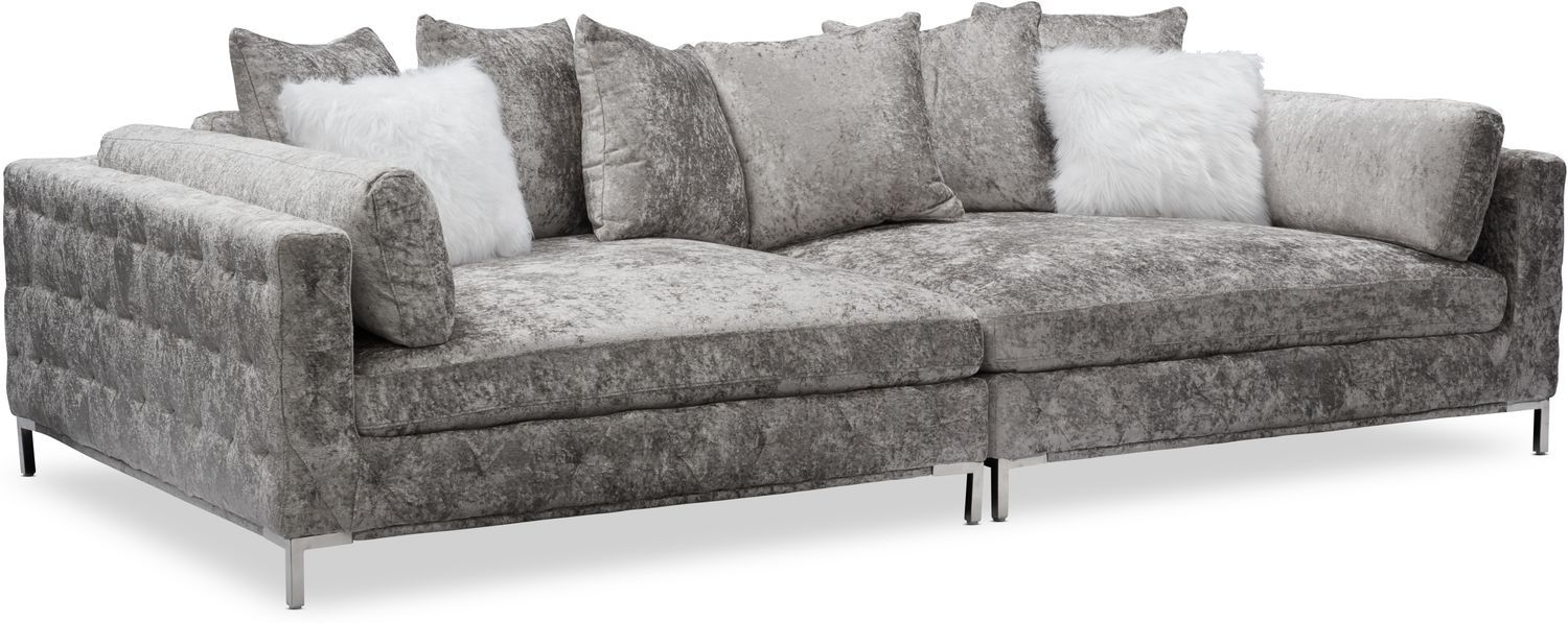 Milan 2 Piece Sofa Midnight In 2020