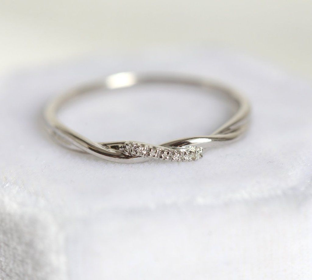 Twisted Band Rope Wedding Ring Band Ring Rope Twisted Wedding Wedding Rings Go Wedding Ring Bands Matching Wedding Rings Wedding Rings Sets His And Hers