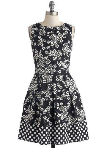 Pattern Mix Dress