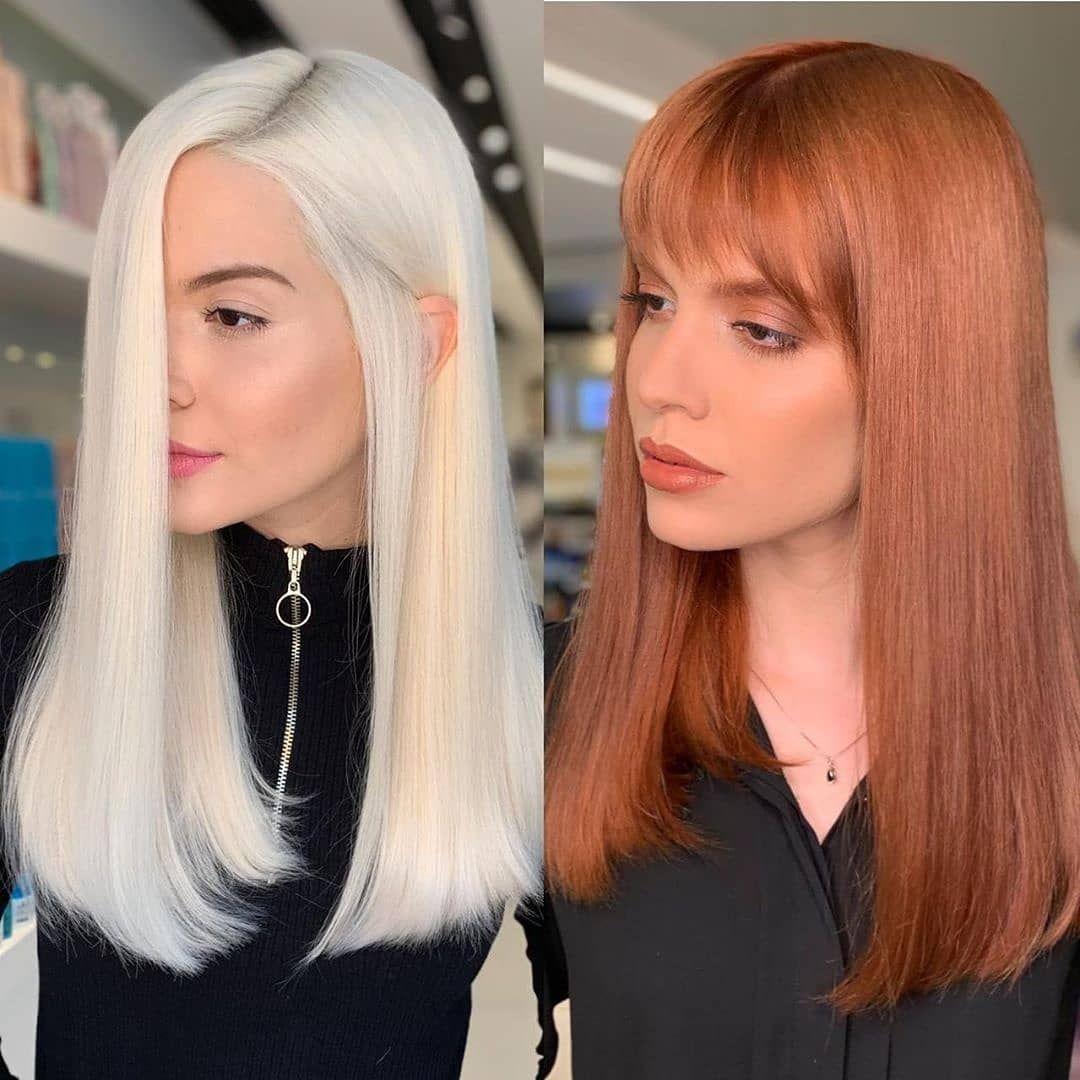 Behindthechair Com On Instagram Platinum Or Rosy Red
