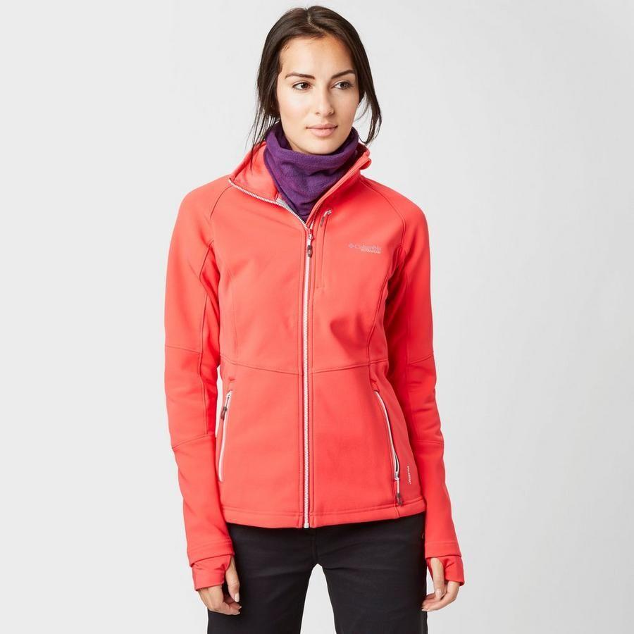 Red Columbia Women's Titan Ridge II Hybrid Jacket   Jackets