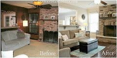 Before And After Family Room Renovation | Before And After F… | Flickr