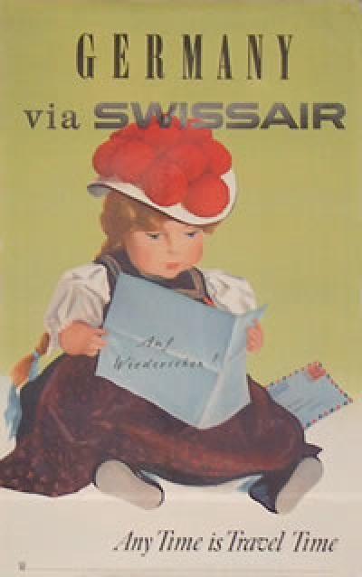 Swissair ~ Germany, 1960s