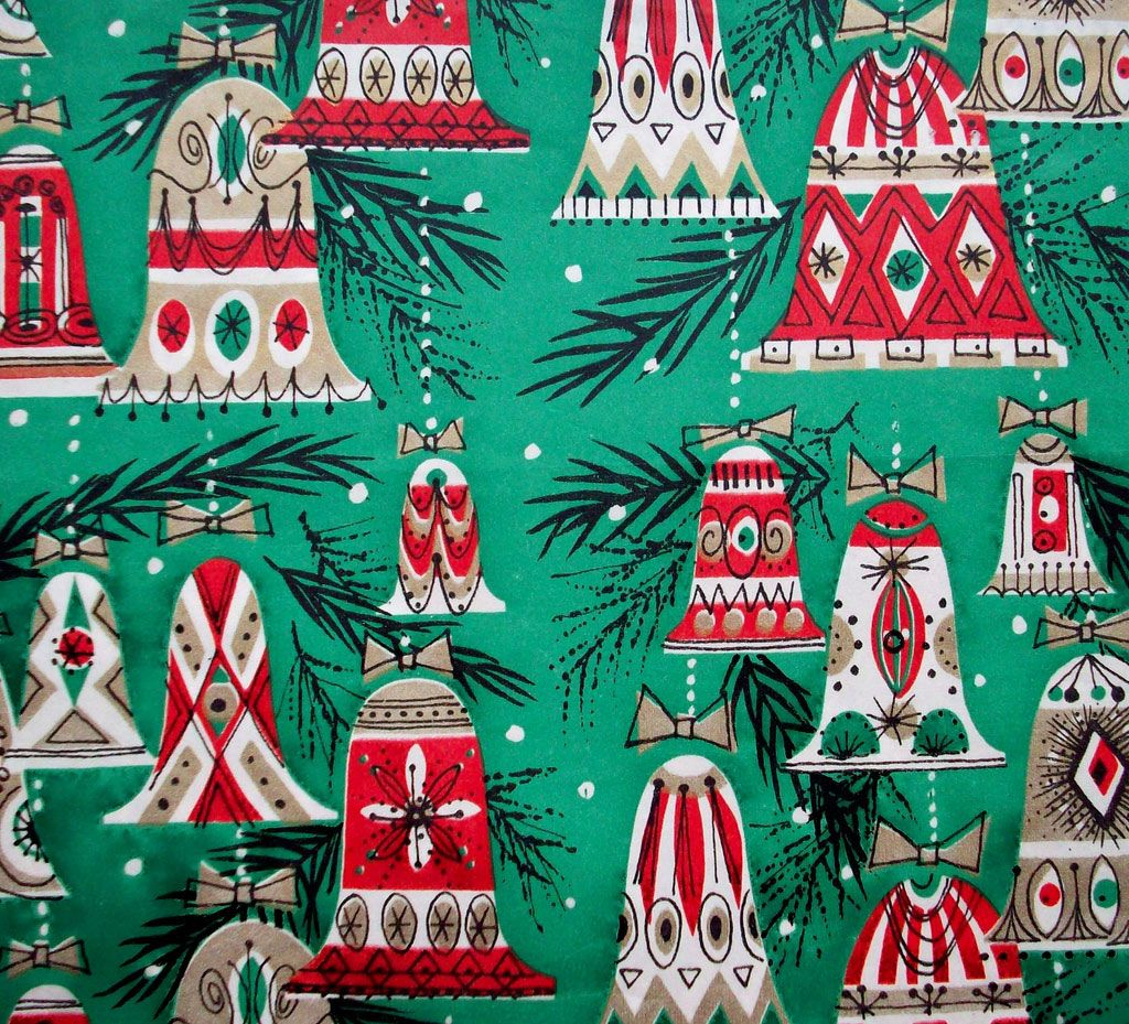 love vintage christmas wrapping paper - Vintage Christmas Wrapping Paper