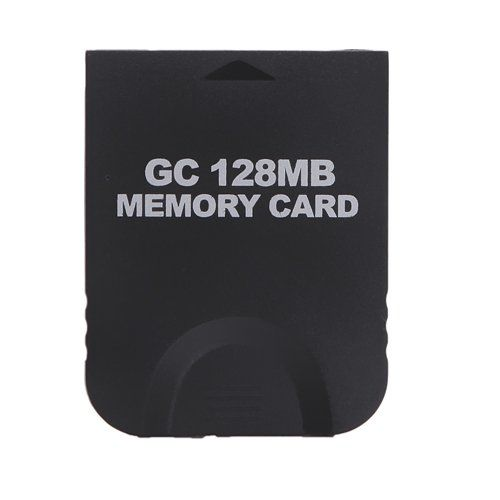 HDE 128MB (2048 Blocks) Black Memory Card for Nintendo GameCube or Wii: Amazon.co.uk: PC & Video Games