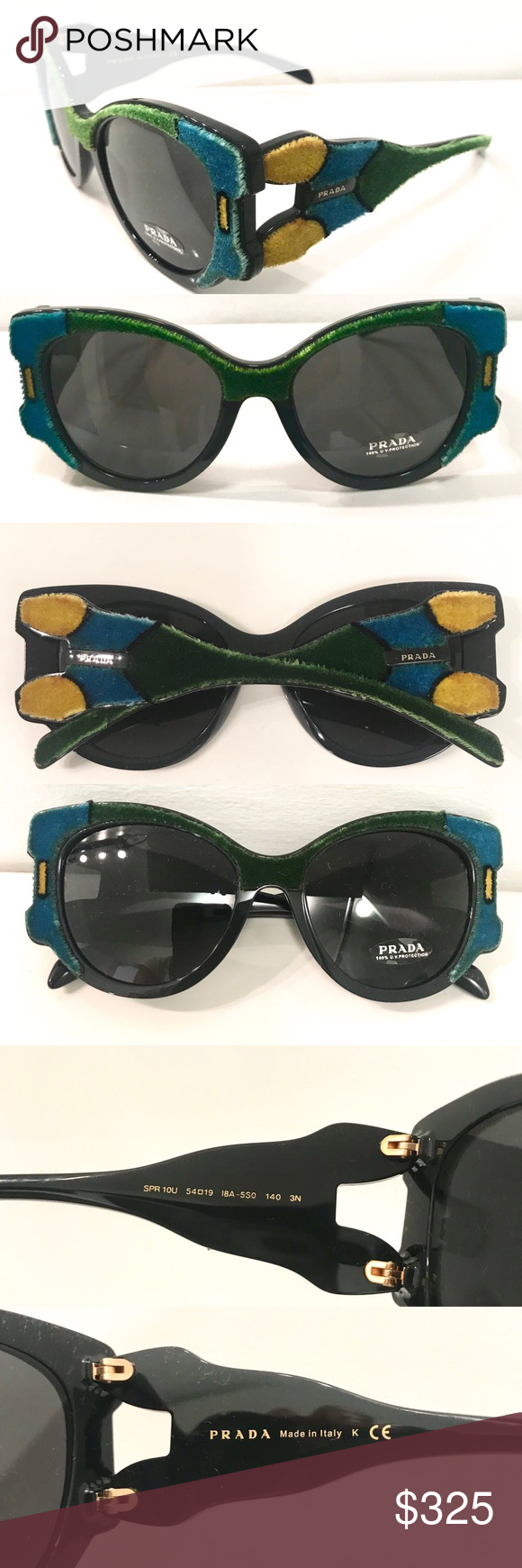 ee4609de2681 Spotted while shopping on Poshmark  Prada Butterfly sunglasses!  poshmark   fashion  shopping  style  Prada  Accessories