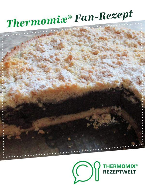 Mohnkuchen mit Streusel (mit Mürbeteig) #süßesbacken