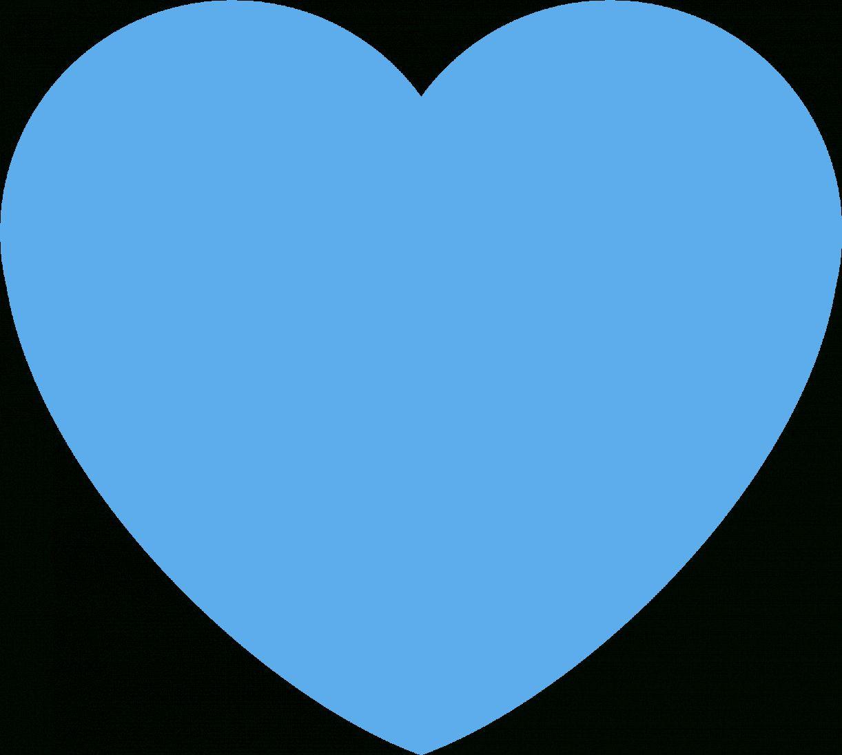 15 Blue Heart Png Blue Heart Emoji Blue Heart Heart Illustration