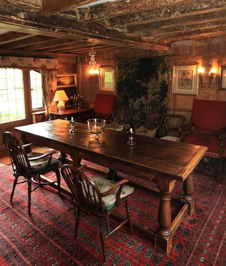 The Dining Room At Cotchford Farm Near Hartfield In East
