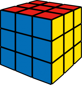 Rubik's Cube | Rubik's Cube | Vector icons, Cube, Icon parking