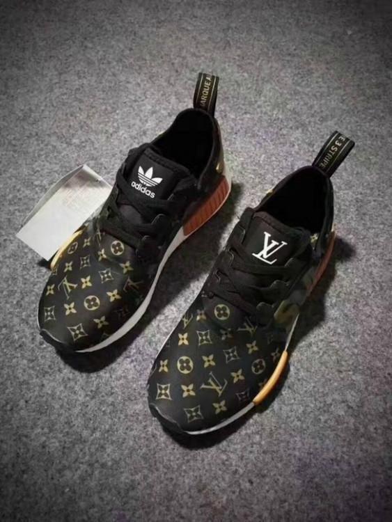 Check Out Supreme X Lv X Ad At Http Www Benzinoosales Com Products Supreme X Lv X Adidas Nmds Monogram U Lv Shoes Louis Vuitton Shoes Sneakers Men Fashion