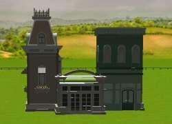 Funville Buildings Set 1 custom scenery rct3 | RCT3 Custom Scenery