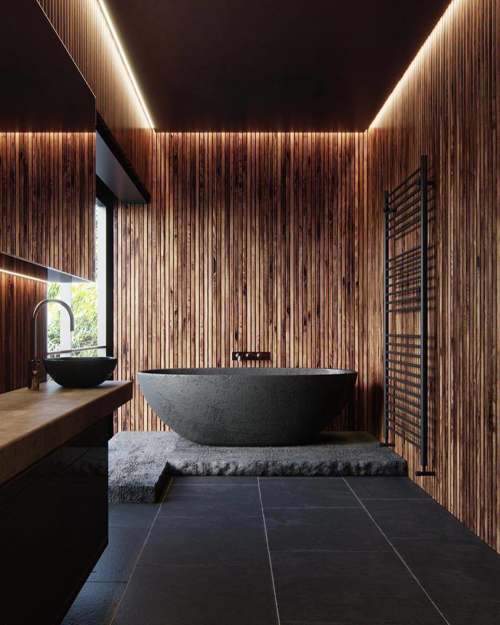Minimal Interior Design Inspiration   Iç tasarım, Banyo dekorasyonu, Lüks banyolar