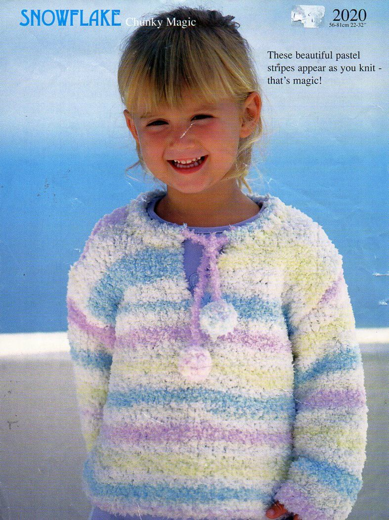 "SWEATER//JUMPER SIZES 18/"" KNITTING PATTERN BABY//CHILDREN/'S CABLE CARDIGAN 28/"""