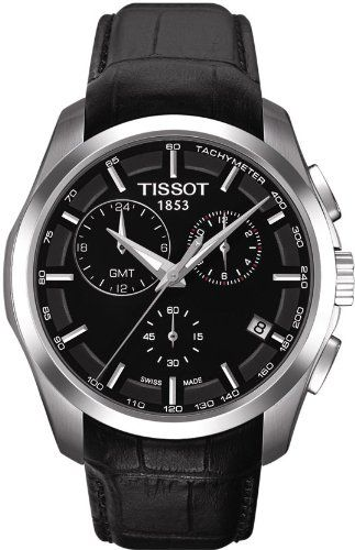 tissot t trend couturier chronograph gmt black dial mens watch tissot t trend couturier chronograph gmt black dial mens watch t0354391605100 tissot
