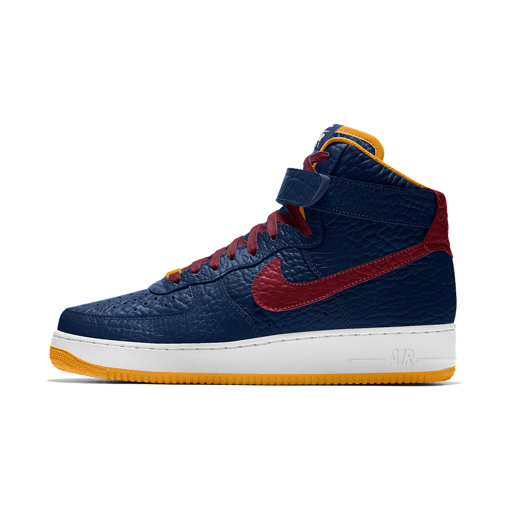 new concept b7a71 4f23b Zapatos · Nike Air Force 1 High Premium iD (Cleveland Cavaliers) Men s Shoe  Size 6 (