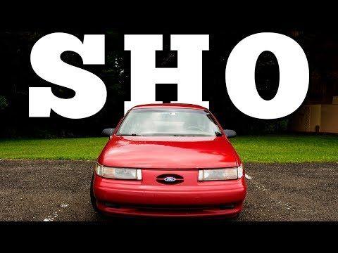 Motorweek Retro Review  Ford Taurus Sho Youtube