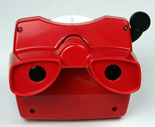 Classic Viewmaster Viewer 3D Model L In Red, 2015 Amazon Top Rated Viewfinders #Toy
