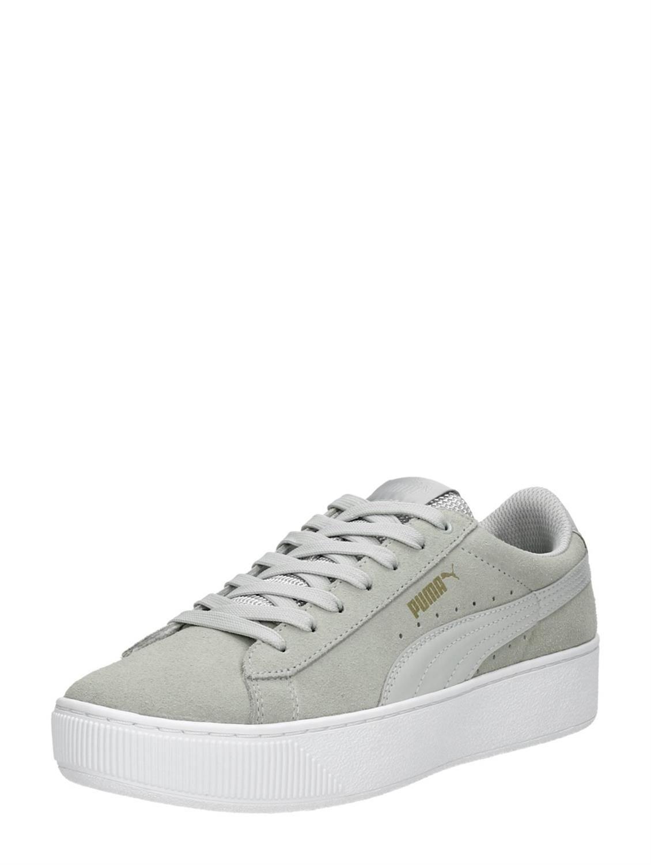 grijze puma slippers