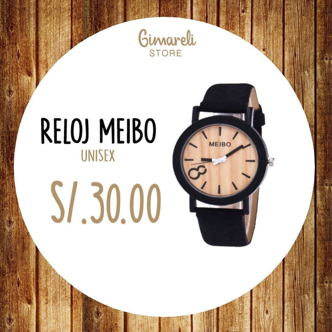Reloj De Pulsera Unisex S 30 00 Reloj Unisex Watch Pulsera Gimareli Store Pucallpa Igerspucallpa Peru In 2020 Leather Watch Leather Accessories