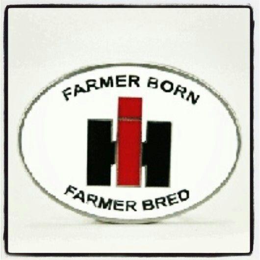Tractorup Badass Belt Buckle Ih Internationalharvester