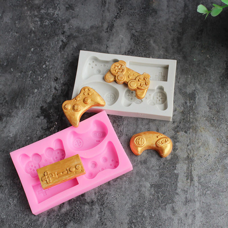 New Gamepad Silicone Mold gamers boy gift game controller