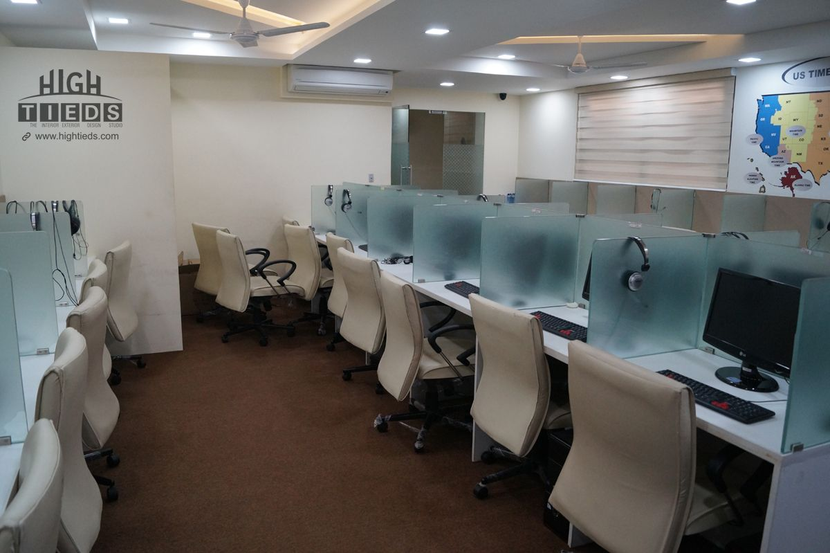 Office cabin interior design office interior design office exterior -  Table Chairs Over Ceiling Panel Lights Concealed Led Rope Lights Exclusive Pop Designs 1400 Square Feet Corporate Office Interior