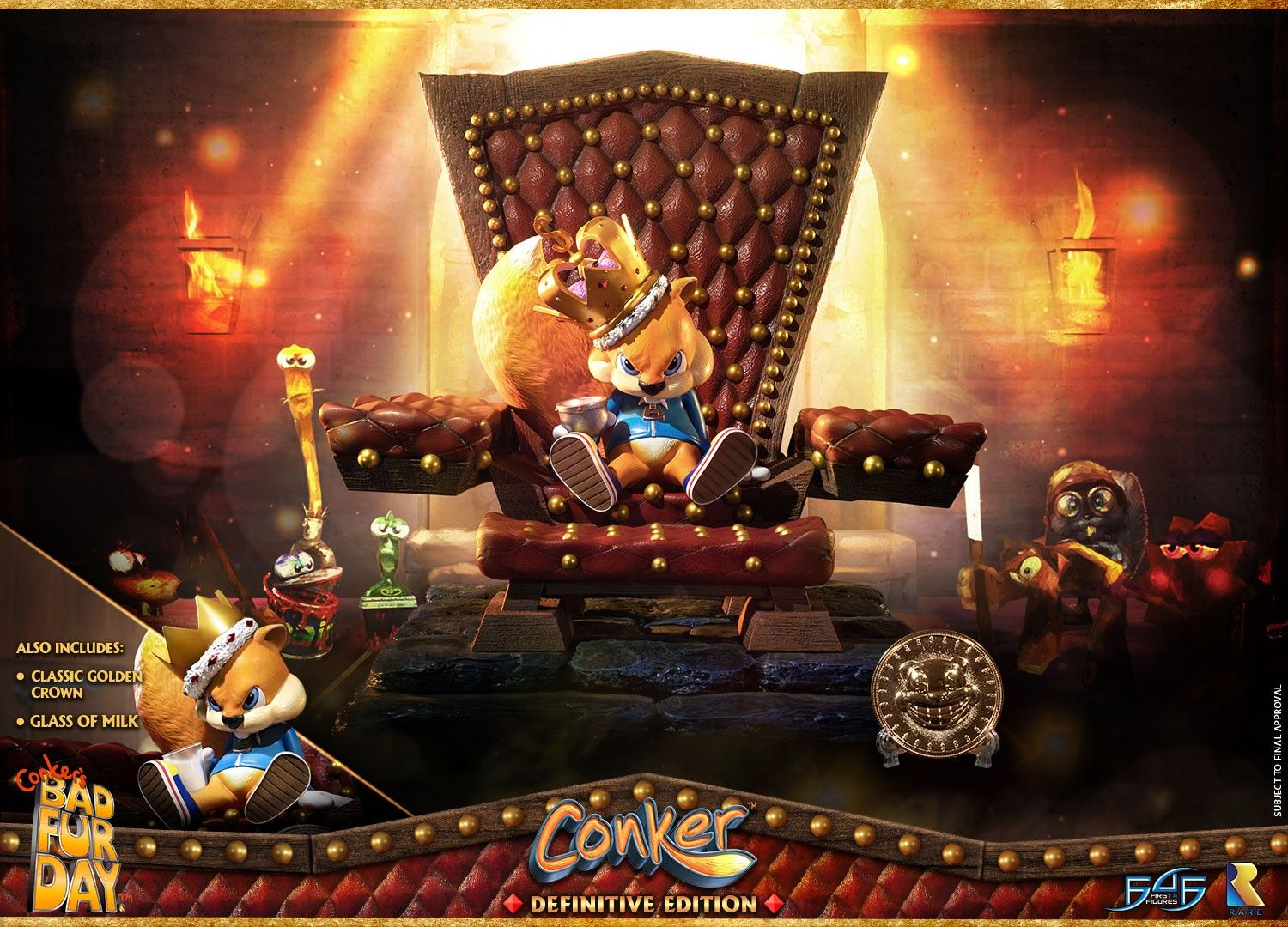 Conker Conker S Bad Fur Day Conker Definitive Edition Conkers