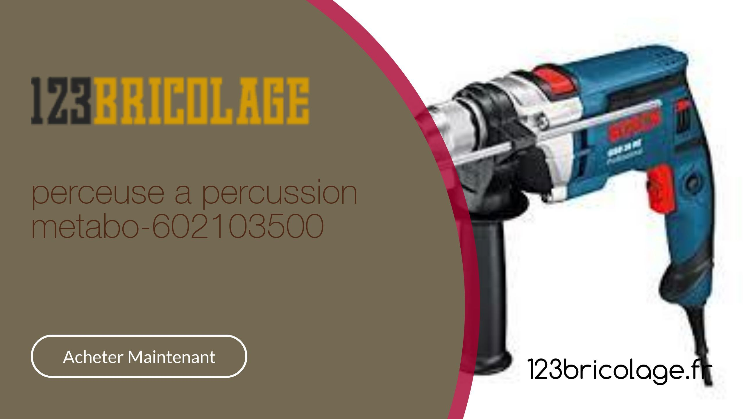 Perceuse A Percussion Metabo 602103500 Perceuse Perceuse A Percussion Percussions
