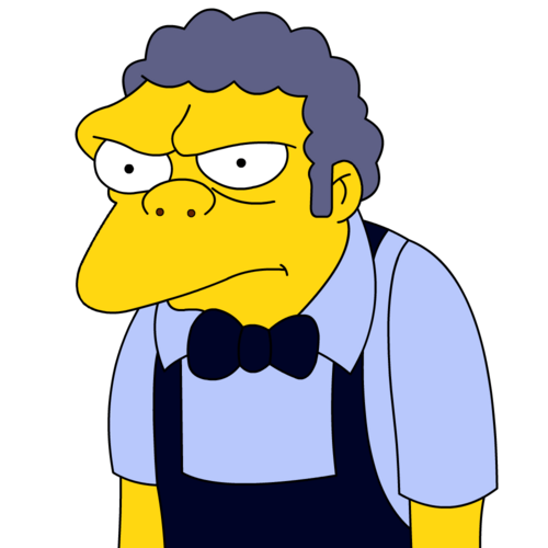 Image result for the simpsons moe