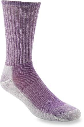 Smartwool Hike Light Crew Womens Underwear Walking Socks Grape All Sizes