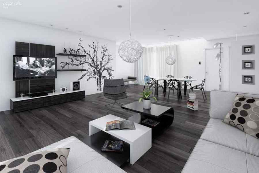 Woonkamer Ideeen Zwart.Zwart Wit Interieurs Slaapkamer Ideeen Kleurrijke Slaapkamer