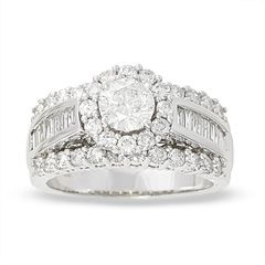 T W Frame Diamond Engagement Ring In 14k White Gold Clearance Zales