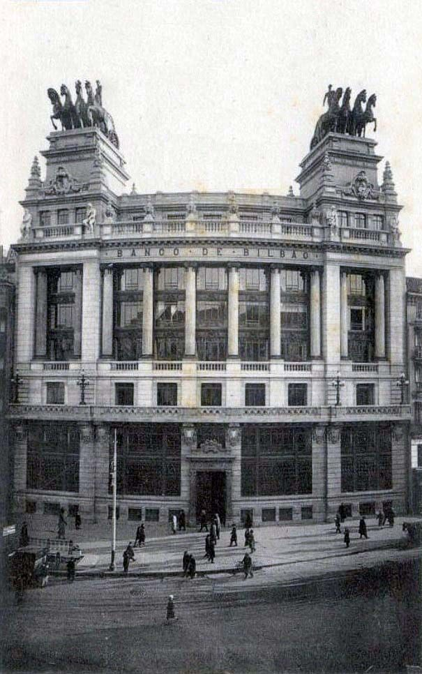Banco de bilbao en calle alcal madrid portal - Bilbao fotos antiguas ...