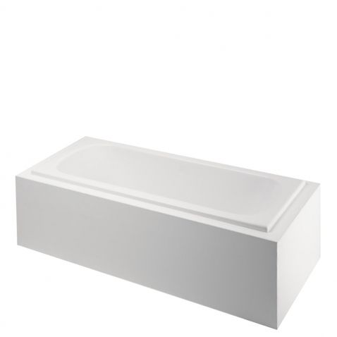 "Classic 60"" x 31"" x 20"" Left Hand Air Rectangular Bathtub with End Drain"