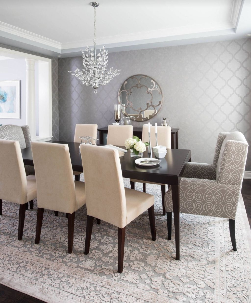 20 Wonderful Contemporary Dining Room Decorating Ideas To Try