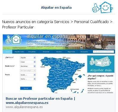 Nuevos anuncios en categoría Servicios > Personal Cualificado > Profesor Particular
