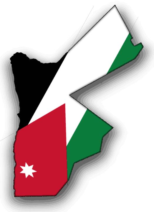 Flag Map Of Jordan Flags Of The World Jordan Flag Flag