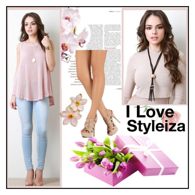 """""""Styleiza 13/50"""" by nejrasehicc ❤ liked on Polyvore featuring Anne Michelle and Styleiza"""
