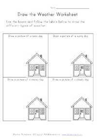 draw picture of weather worksheet sujata weather worksheets teaching weather weather lessons. Black Bedroom Furniture Sets. Home Design Ideas