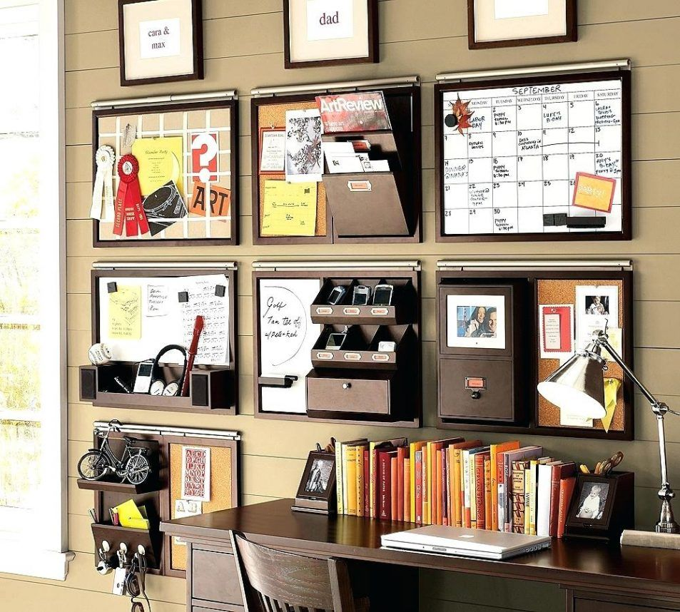 Diy Wall Space Office Organizer Take Your Planning To The Next Level