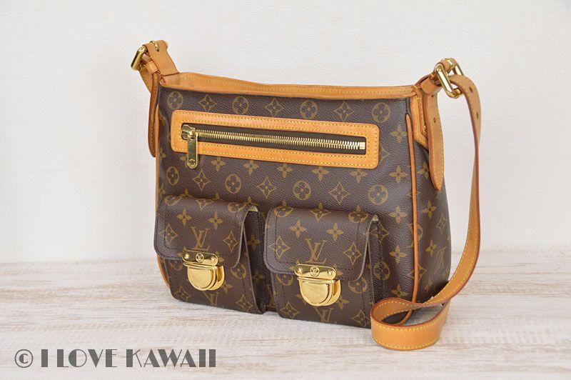 Louis Vuitton Monogram Hudson GM Shoulder Bag M40045