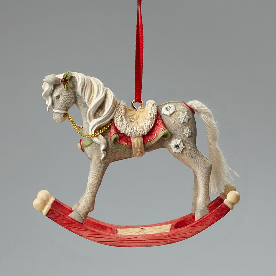 Christmas Tree Ornaments Horse: Christmas Ornaments, Figurines