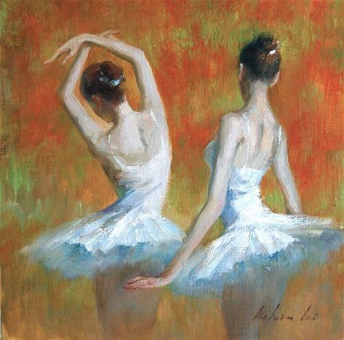 "Daily Paintworks - ""Rhythm"" - Original Fine Art for Sale - © Kelvin Lei"